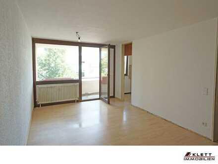 Für Kapitalanleger: Attraktive, helle 1-Zimmer-Wohnung mit Balkon und Duplex-TG-Stellplatz