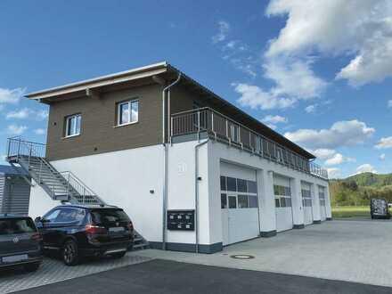 Wohnen und Arbeiten in Neubau Erstbezug im Gewerbegebiet von Isny