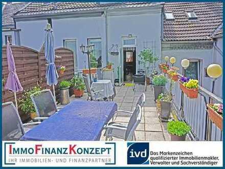 Stilvolle 2,5 Zimmer Eigentumswohnung in Wanne-Eickel mit großer Dachterrasse und Garten