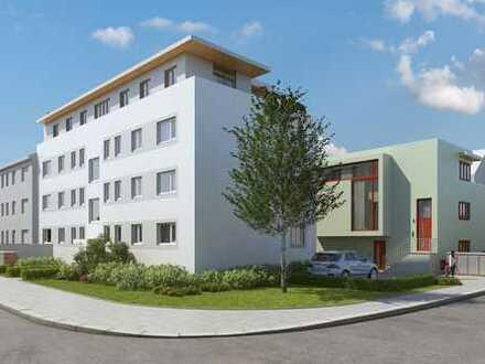 Neubau: 2-Zimmer-Wohnung mit großer Wohnküche und Dachterrasse. Eschersheim, ruhig gelegen, EBK