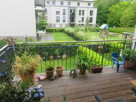 Große Neubauwohnung für die Familie mit großem Balkon -Top ausgestattet- ruhig und zentral in Brühl