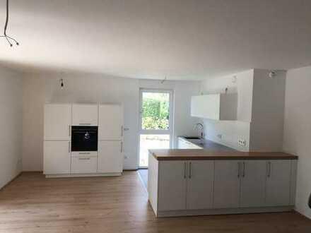 Neuwertige 3,5-Zimmer-EG-Wohnung mit Terrasse und EBK (mit Ablöse) in Fürth
