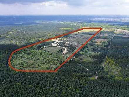73,7 ha Grundstück mit Quarzsand an der Berliner Stadtgrenze - Dahlwitz-Hoppegarten
