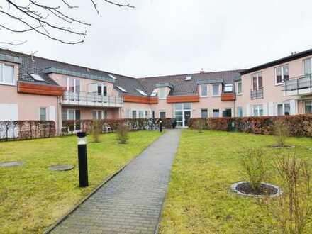 Vermietete 2-Zimmer-Eigentumswohnung mit Terrasse und Pkw-Stellplatz in Neuruppin