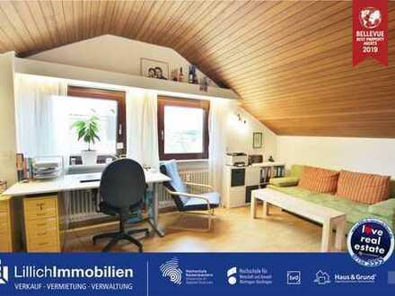 Klein, aber fein - gemütliche Dachgeschoss-Wohnung in ruhiger Wohnlage.