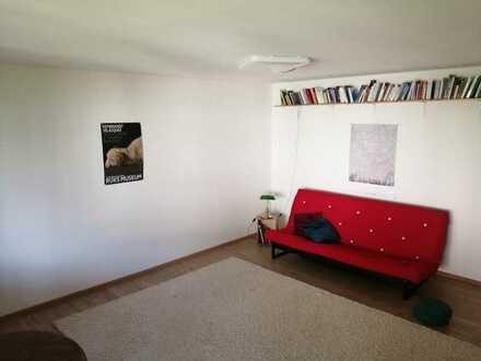 In Freiburg: Wohnung mit einem Zimmer und Balkon