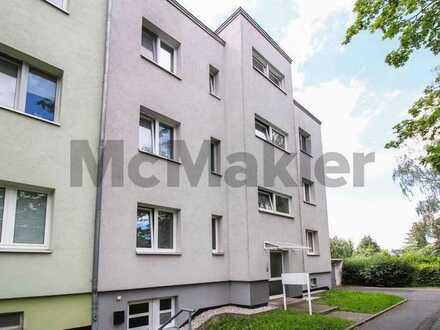 Sichere Kapitalanlage in Chemnitz-Kappel: Kernsanierte 2-Zi.-Wohnung mit West-Balkon in grüner Lage
