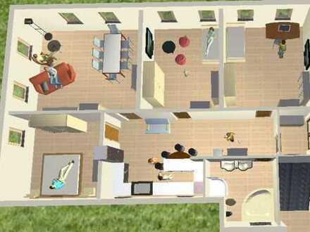 Sanierte 4-Zimmer-Wohnung mit EBK in Besigheim\Ottmarsheim nach Kernsanierung