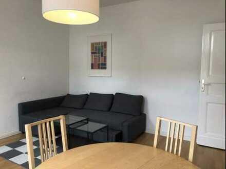 Komplett möblierte, ruhige 2-Zimmer-Wohnung im Herzen von Kreuzberg