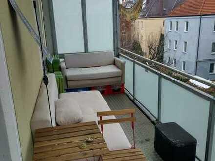 WG Zimmer nahe Bahnhof Augsburg-Oberhausen