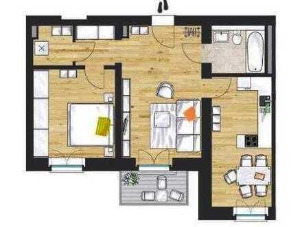 """""""Am Funkerberg"""" - Wohnen im Grünen: Exclusive 2-Zimmer-Wohnung mit Balkon und Blick ins Grüne"""