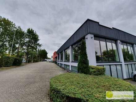 Sanierte Gewerbeimmobilie im Gewerbegebiet Schwabach - Falbenholz - opt. mit großer Terrassenwohnung