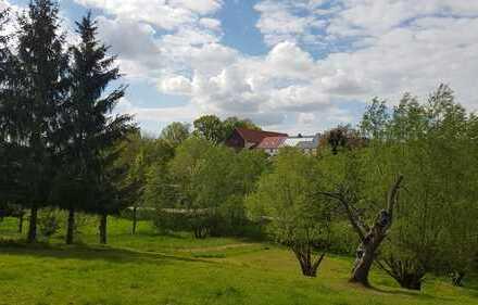 Bauträger: Grundstück mit Bauvorbescheid in idyllischer Lage - 2 DH + 1 EFH