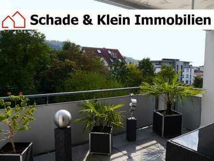 Maisonette-Wohnung (ca. 124 qm Grundfläche) mit Balkon, Einbauküche und 2 Bäder in Donzdorf
