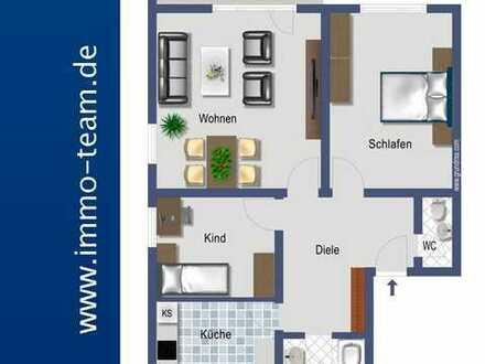 +++ sonnige 3 Zimmerwhg mit Südbalkon u. Garage +++