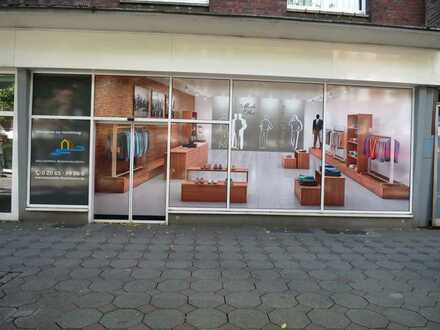 ansprechendes Ladenlokal in der Rheinhauser Fußgängerzone