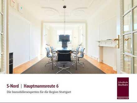 Hautpmannsreute |Altbauetage ca. 214 qm, 6 Zimmer, Doppelgarage u. v. m.