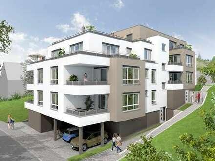 Exklusive 2-Zimmer-Wohnung mit traumhafter Sonnenterrasse im Penthouse