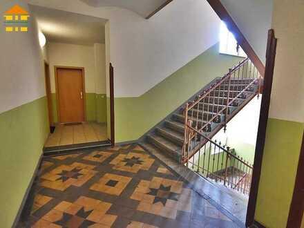 Zuverlässig vermietete 2-Raum-Wohnung mit Balkon in gepflegtem Altbau!