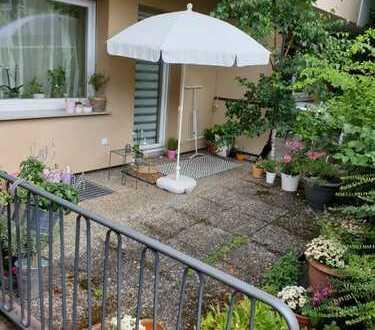 Helle 2Zi - Gartengeschosswohnung mit Stellplatz und großer Terrasse