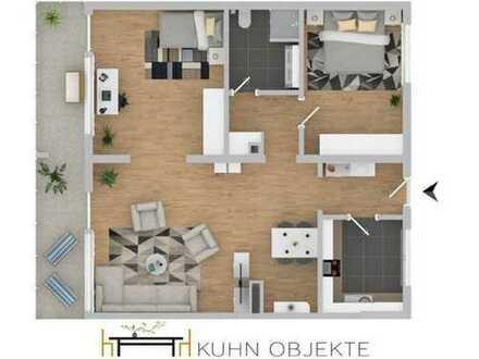 Verkehrsgünstige Wohnlage in Ludwigshafen- Helle-Ruhige- Wohnung mit Balkon und Aufzug