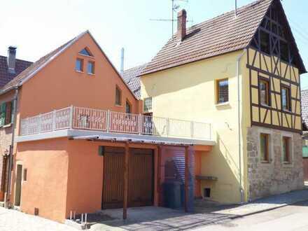 Restauriertes Fachwerkhaus mit viel Charme und Platz für die Großfamilie in Hochdorf/Eberdingen