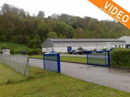 Preissenkung! Gewerbehallen, Büro/Werkstatt 600 qm mit Außenanlagen