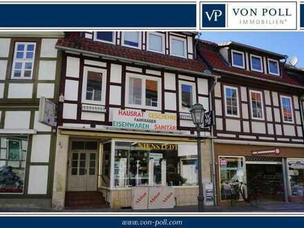 Wohn- und Geschäftshaus im Stadtzentrum von Bad Gandersheim