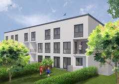 exklusive 4 Zimmer Maisonette Wohnung mit Garten !!