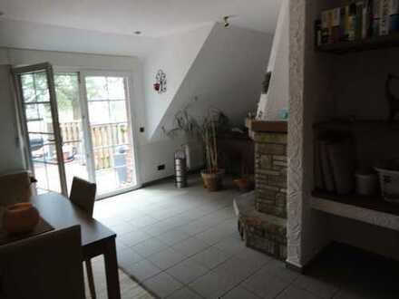 Wohnung mit Balkon im Außenbereich