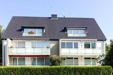 Gepflegte 3-Zimmer-Erdgeschoß-Wohnung mit Balkon in Poppenbüttel