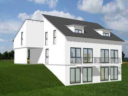 Baubeginn erfolgt! Helle Doppelhaushälfte in Ortsrandlage von Mz-Weisenau mit kleinem Gartenanteil!