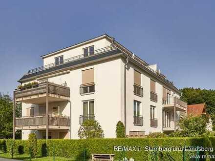 Moderne, hochwertig ausgestattete Wohnung fussläufig zum Zentrum von Gauting