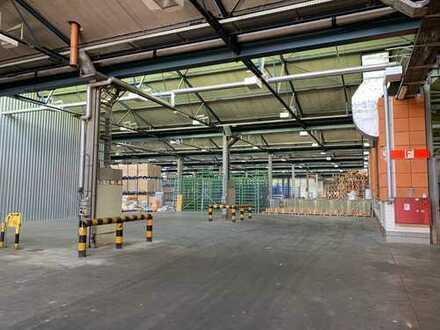 sofort verfügbar, ebenerdige Hallen für Lagerung/Produktion/Umschlag, auch kurzfristig zu vermieten