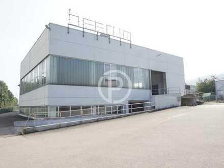 Funktionale Lagerhalle oder Produktionshalle direkt an der A7 nähe Aalen zu vermieten!