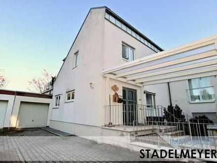 Wohnen wie im Haus... großzügige und komfortable Maisonettenwohnung mit Blick über Neustadt