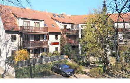Sehr schöne 3-Zimmerwohnung mit Balkon und Tiefgaragenstellplatz im Zentrum von Herzogenaurach