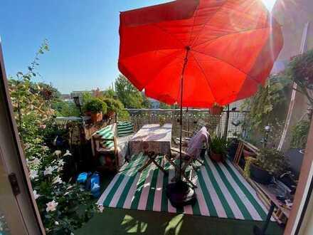 Sonnige 2-Zimmer Dachgeschosswohnung - VERMIETET