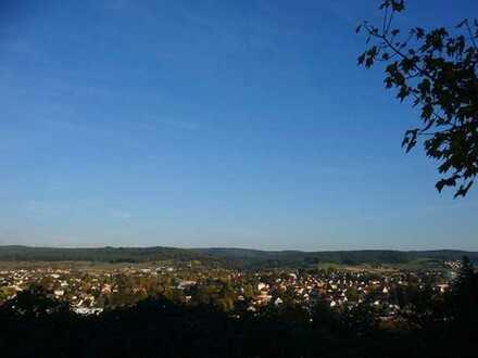 Sonnenplatz über Erbach