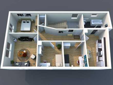 Schöne und helle Wohnung, zentral gelegen