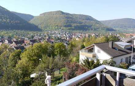 2-Zimmer-DG-Wohnung mit Blick über das Lenninger Tal
