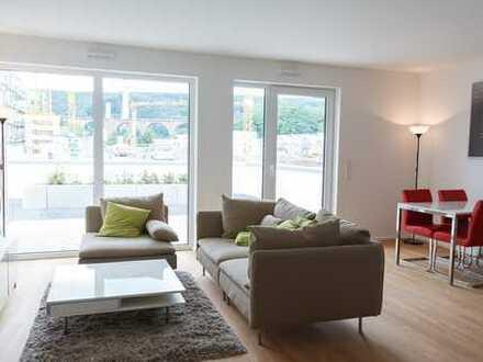 Großzügige helle 2-Zimmerwohnung an der Ruhr mit Terrasse, perfekte Nahversorgung, barrierefrei