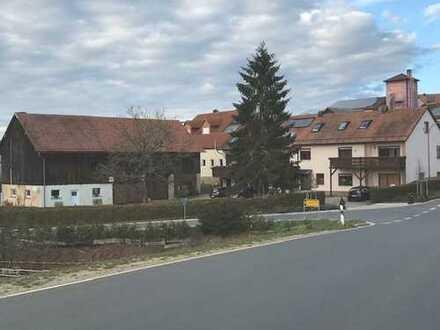 Sehr gepflegtes Mehrfamilienhaus mit Nebengebäuden in Gunzendorf