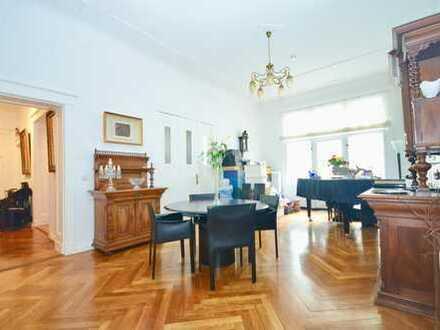 Nur per Mail! Wohnen in der Belle Etage am Olivaer Platz - 5 Zimmer Altbau Wohnung mit Balkon