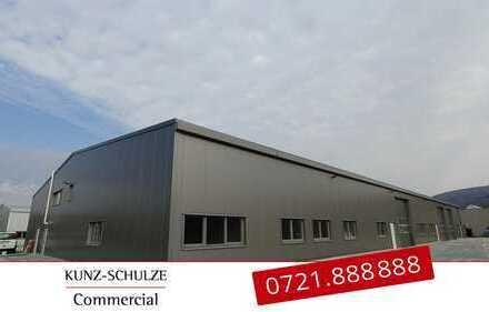Projektierte Hallenflächen mit flexibler Ausstattung in Ettlingen!