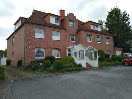 Toplage Kurviertel Bad Iburg; Erdgeschoßwohnung mit kl.Garten; 740 EUR warm