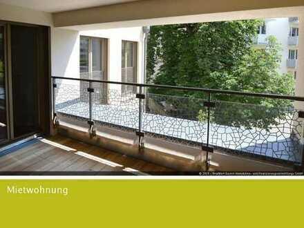 Großzügige und gut geschnittene 3-Zimmer-Neubauwohnung im 2. Obergeschoss mit Loggia