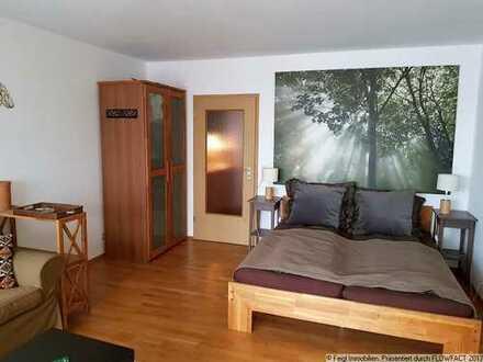 """""""Wohnen wo Andere Urlaub machen"""" 1 Zimmer mit Balkon / Seesicht und Birnaublick / möbliert"""