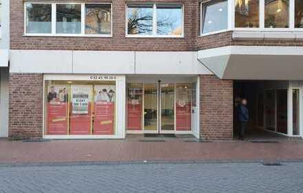 Ehemalige Bankfiliale (Büro/Ladenfläche) in der Innenstadt von Gütersloh