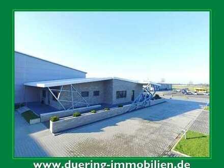 Moderne Lager- & Produktionshalle mit Bürogebäude! Neuwertig! Provisionsfrei!